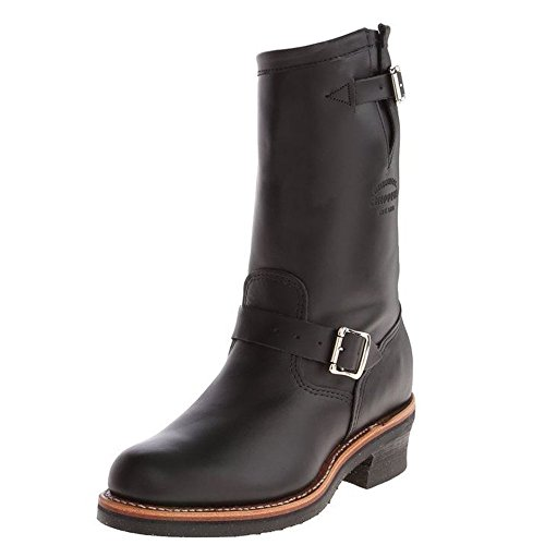 Chippewa 1901 11-Inch Engineer Boots - Handgearbeitete Herren Leder Boots 1901m48