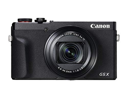 Canon PowerShot G5 X Mark II Digitalkamera (20,1 MP, DIGIC 8, EVF, 4K,  Bluetooth) schwarz