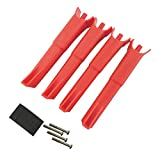 Fytoo Accessory Landing Gear for MJX B2C B2W D80 Bugs 2 Bushless Four-Axis Aircrft Upgrade Parts RC Quadcopter Drone Landing Skid - Red