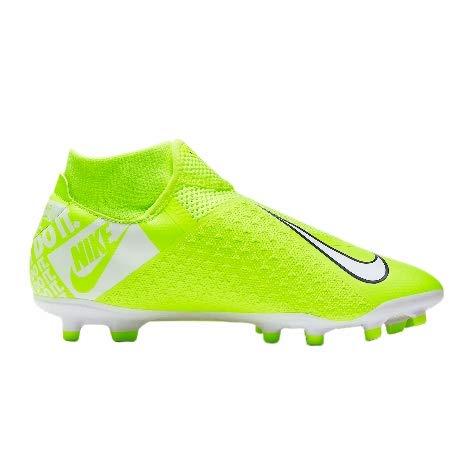 Nike Phantom Vision Academy Dynamic Fit MG, Scarpe da Calcio Unisex-Adulto, Verde White-Volt 717, 42 EU