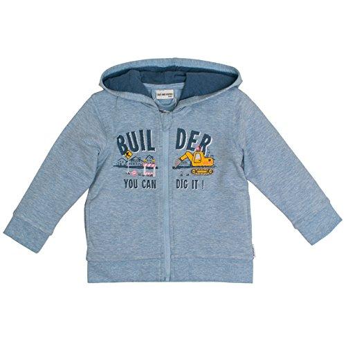 SALT AND PEPPER Baby-Jungen Jacke B Jacket Just Cool Builder, Blau (Cloud Blue 435), 80