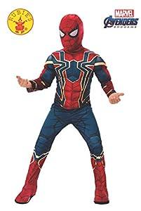 Rubies - Disfraz Oficial de Araña de Hierro de los Vengadores, Spiderman, Talla M, Edad 5 - 7, Altura 132 cm