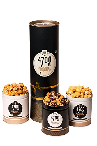 4700BC Gourmet Popcorn, Combo Gift Pack, 3 Flavours