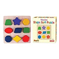 Wooden Shape Sorter Blocks Sorting Blocks Sorting Wooden puzzle Toy New