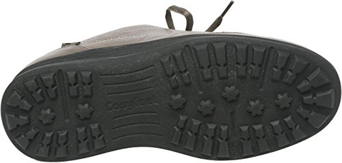 Cosyfeet Minnie Schuhe - Besonders Geräumig/Extra Roomy (Breite Passform M+ Euro/5E+ Width Fitting UK) Dunkel-Khaki, Leder