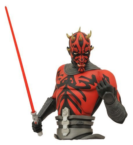 Diamond Select Toys Star Wars: The Clone Wars: Darth Maul Bust Bank by Diamond Select