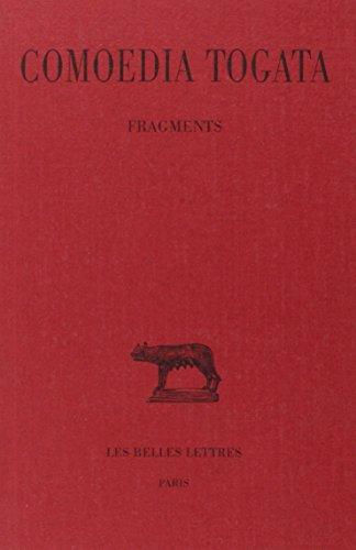 Comoedia Togata : fragments par  Comoedia Togata