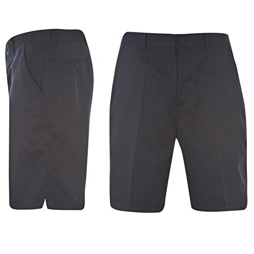 Short Dunlop de golf pour homme Boucles de ceinture Bouton de fermeture, bleu marine