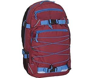 FORVERT Backpack Ice Louis, Blau (Burgundy Blue), 50.5 x 26.5 x 12 cm, 19.5 Liter, 880229