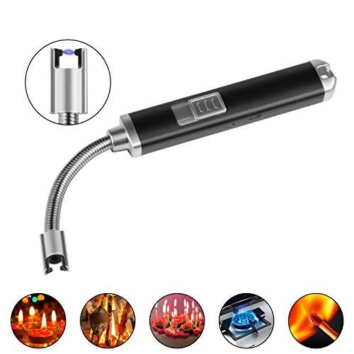 Aniyoo Encendedor eléctrico de Arco con USB, Carga de Vela, Resistente al...