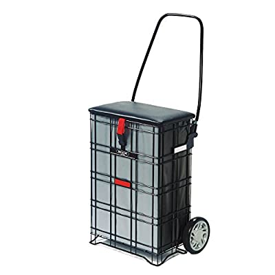 NRS Healthcare Escort Shop A Seat Shopping Trolley (Eligible for VAT relief in the UK)