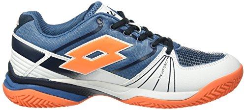 Lotto Sport Esosphere Cly, Scarpe da Tennis Uomo Blu (BLU AVI/FANT FL)