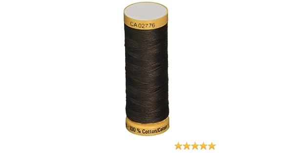 Gutermann 103C-2960 Thread Natural Cotton 110 Yards-Dark Brown