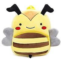 Cartoon Animal Backpack, Cute Toddler Bag Cute School Bags for 2-5 Years Kids, Gift for Kindergarten Kids