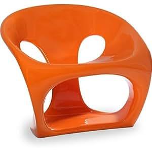 Chaise Hara - Inspiration Giorgio Gurioli Orange