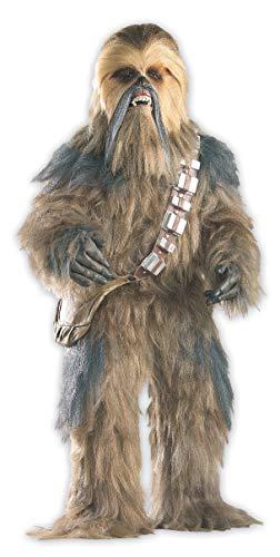 Star Wars Kostüm Edition Supreme - Rubie's 3 909878 - Supreme Edition Chewbacca Kostüm, Größe M/L