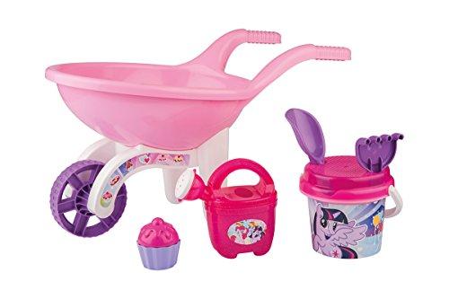 Simba 107134107 - My Little Pony Schubkarre - Gefüllt Pony-spielzeug My Little