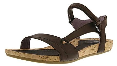 Teva Women's Capri Universal W's Athletic Sandals Brown Braun (Pearlized