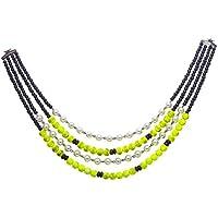 Sempre europea di Londra collezione 4Strand collana di perle oro antico tono placcato con 18Catena Designer Collana per le donne