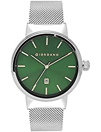 Giordano Analog Green Dial Men's Watch- 1842-22