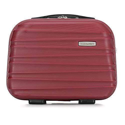 WITTCHEN Kosmetikkoffer Reisekoffer   Burgund   30x16x34   Kapazität: 15L   Gewicht: 1kg