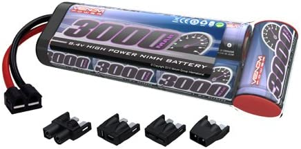 Venom 8.4 V V V 3000 mAh 7-Cell NiMH batterie plate Lot avec Universal Plug Système 6a483d