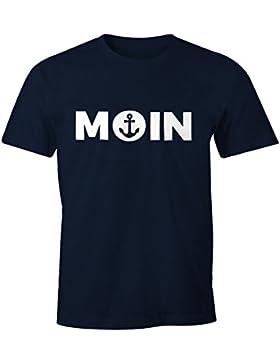 Cooles Herren T-Shirt Moin mit Anker Shirt Moonworks®