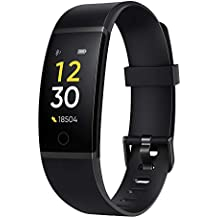 (Renewed) Realme Band (Black) - Full Colour Screen with Touchkey, Real-time Heart Rate Monitor, in-Built USB Charging, IP68 Water Resistant