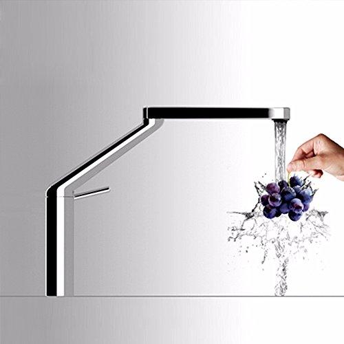 QMPZG-Stilvolle Küchenarmaturen, warme und kalte Waschbecken Armaturen, kreative Waschbecken, Waschbecken Armaturen, Kupfer Armaturen drehen