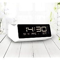 MEILI Kreative elektronische Uhr schwarz und weiß klassischen LED Wecker niedlich hintergrundbeleuchtet stillen... preisvergleich bei billige-tabletten.eu