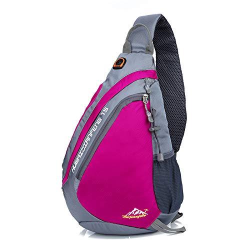 HFALChest Bag Herren Herren Umhängetasche Outdoor Messenger Bag Herren Sportrucksack -
