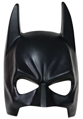 Costume Hero Black Half Mask Helmet for Children and Adult For Party Accessories Batman Superman Spiderman Thor - One Size (Black Batman Mask) by Costume Mask Accessories