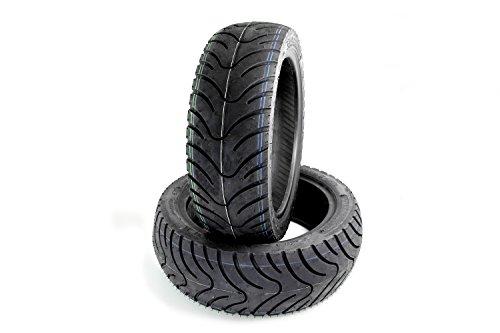 Area1 Sommer Set de pneus Kenda K413 Piaggio Fly 50 2T, Diesis 50, MP3 125 06 MP3 125 08, 3d, Fly 100 4T (120/70-12 + 130/70-12)