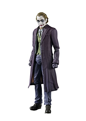 Bandai S.H. Figurants Joker The Dark Knight Figura Articulada,, 20,3 cm (BAN14950)