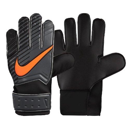 Nike Kinder Match Torwarthandschuhe, Dark Grey/Black/Total Orange, 5