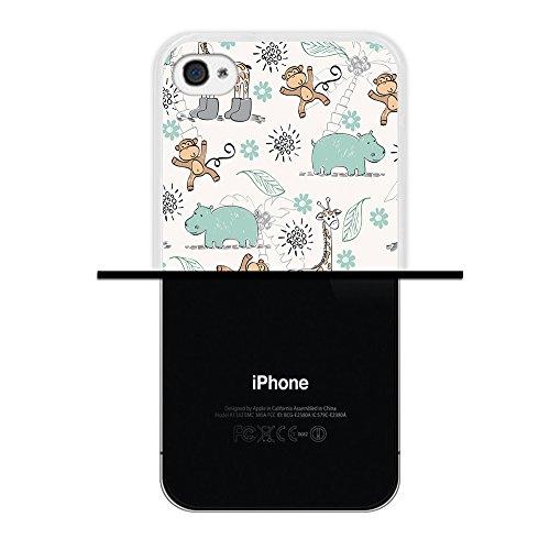 iPhone 4 iPhone 4S Hülle, WoowCase Handyhülle Silikon für [ iPhone 4 iPhone 4S ] Herzen aus Federn Handytasche Handy Cover Case Schutzhülle Flexible TPU - Transparent Housse Gel iPhone 4 iPhone 4S Transparent D0525