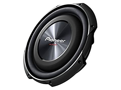 "Pioneer TSSW3002S4 Pioneer 12"" Shallow Mount Woofer 1500W Max SVC 4 Ohm"