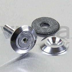 PRO-BOLT - 50150 : Arandela De Aluminio Avellanada M5 (19Mm Øext.) Plata Lwac5S