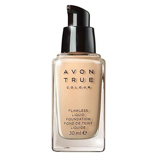 Avon True Colour Flawless Liquid Foundation - Skin With Neutral Undertone - Natural Beige