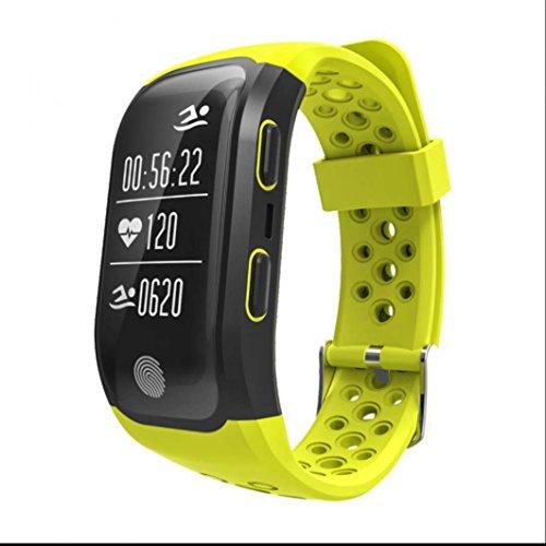Fitness Bracelet Connecté Montre Connectée Podomètre Traqueur,Suivi de l'activité et du rythme cardiaque,de gestion du sommeil,Appel SMS Afficher,pour Smartphone compatible Apple iOS, Android et Bluetooth 4.0 montre intelligente