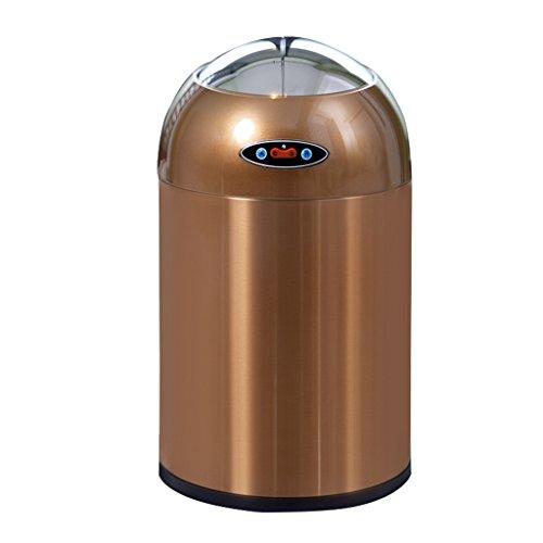 Wghfwx Doppelseitige öffnen Automatische öffnen und Schließen Intelligente Induktion Müll haushalts Automatische (Farbe : 2)