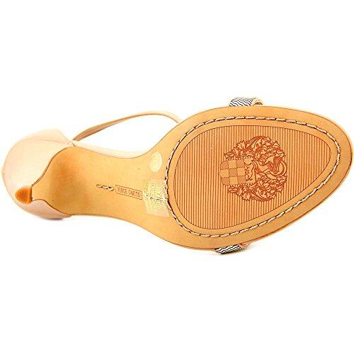 Vince Camuto Makoto Damen Leder Sandale Sandbar/Gold