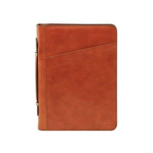 Tuscany-Leather-Costanzo-Exklusive-Konferenzmappe-aus-Leder-mit-Griff-und-Ringmechanik-Honig-TL1412953