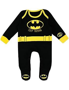 Batman Baby Jungen DC Comics Batman Schlafstrampler