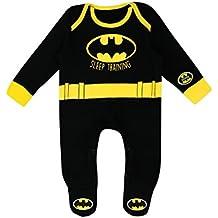 Batman - Pijama Entera para Niños Bebés - DC Comics Batman