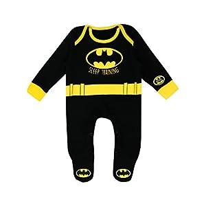 Batman-Pijama-Entero-para-Nios-Bebs-DC-Comics
