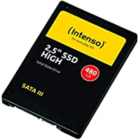 Intenso High Performance interne SSD 480 GB (6,3 cm (2,5 Zoll), SATA III, 520 MB/Sekunden) schwarz