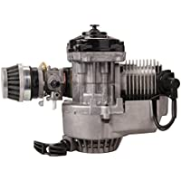 Sange 49cc 2 Tiempos Motor Mini Motor Pullstart Carburador Filtro de Aire Cabeza Dirt Bike Quad Pocket Bike
