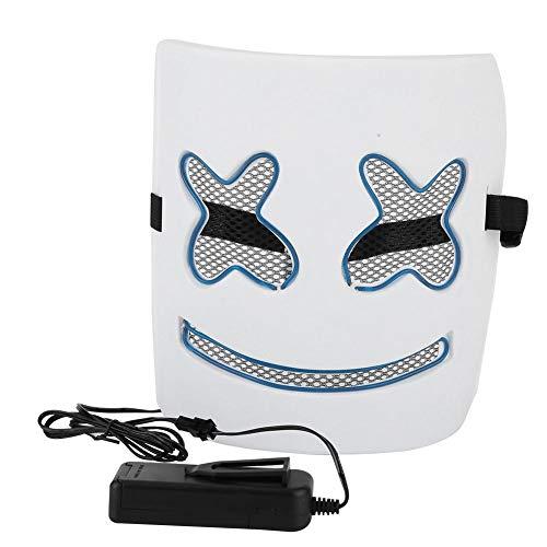 AUNMAS Elektrische kostüm Masken led dj Maske Eva Material DIY leucht männer Maske für Musik Festival Halloween Cosplay Maske kostüm Partei Requisiten