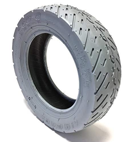 Rollstuhlreifen 3.00-6 für Invacare Elektrorollstuhl, Reifen grau, 4 Ply, Tragkraft 270 lbs, Luftdruck 50 PSI - 3-rad-rollstuhl